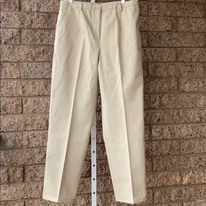Pendleton Women Tan Khaki Pants/Trousers EUC | 12